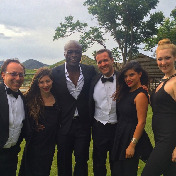 On Set with Seal for Popstar: Never Stop Never Stopping