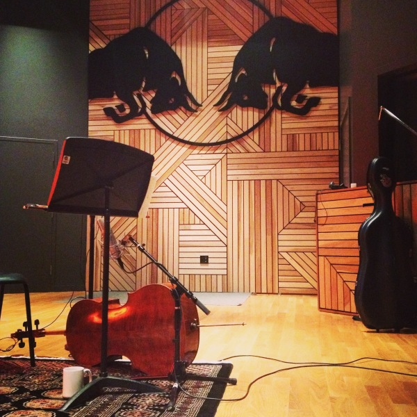 Recording at Red Bull Music Studios