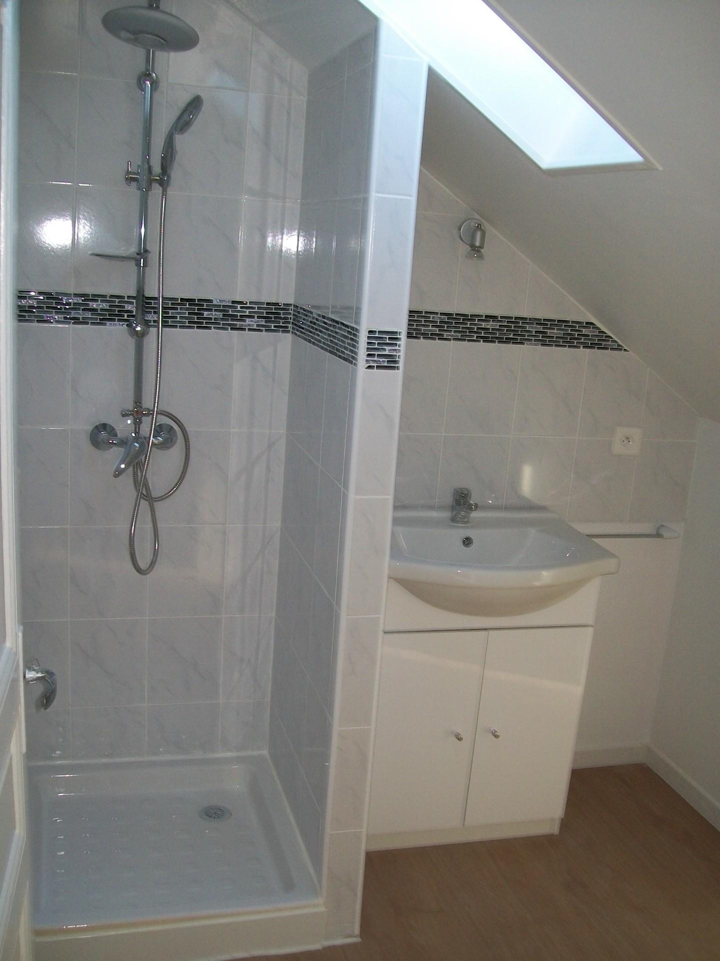 Réfection de salle de bains après travaux