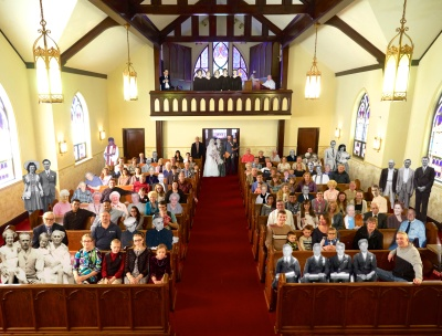 Church at Rest and Militant: Peace Lutheran Church's  Anniversary Portrait