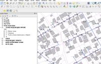QGIS Development - Prikaz mape vodovodne mreže