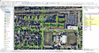 ArcGIS - Sanitary Sewer Network