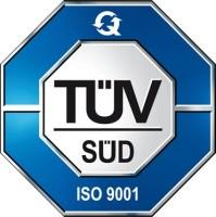 Tüv Süd logo - ISO 9001