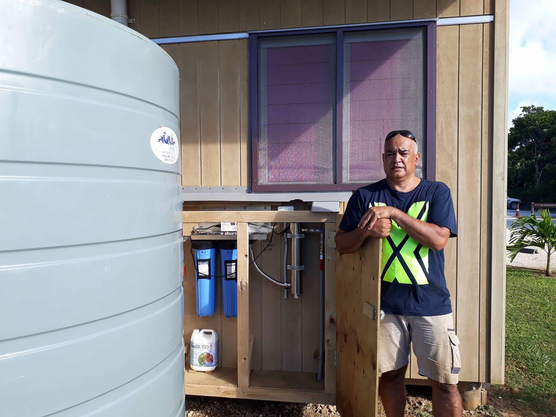 Niue Primary UV Water Treatment