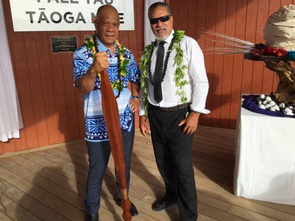 Fale Tau Tāoga Niue; Chant