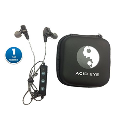 Acid Eye Bluetooth Headphones In Ear Wireless Sweat-Proof Earbuds (Blue)