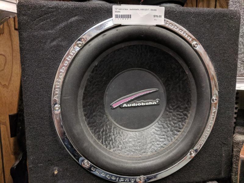 AudioBahn AW1251T