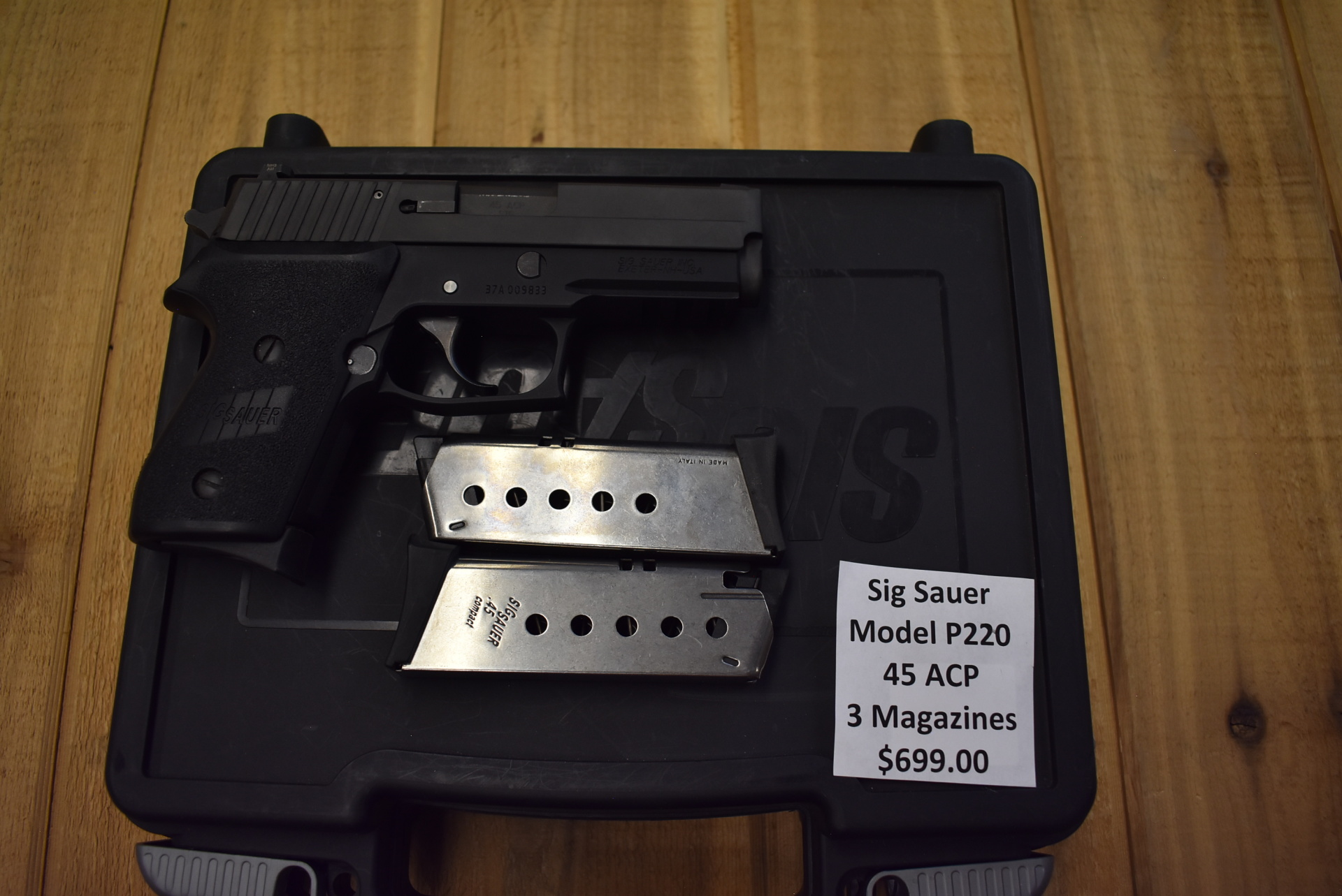 Sig Sauer Model P220