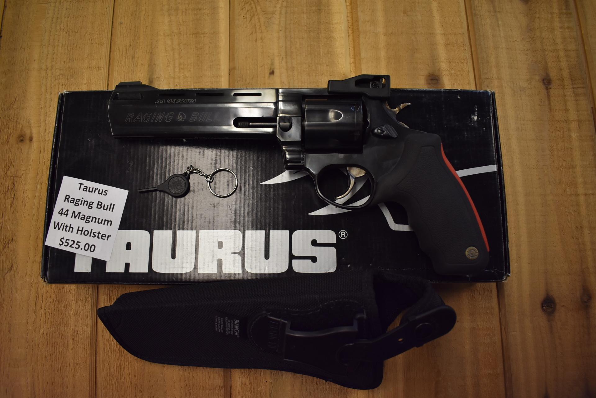 Taurus Raging Bull
