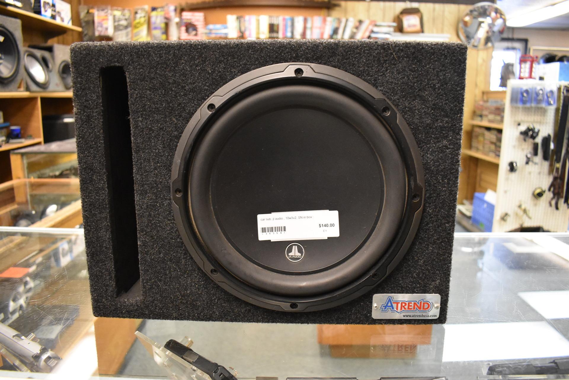 JL Audio 10w3v2