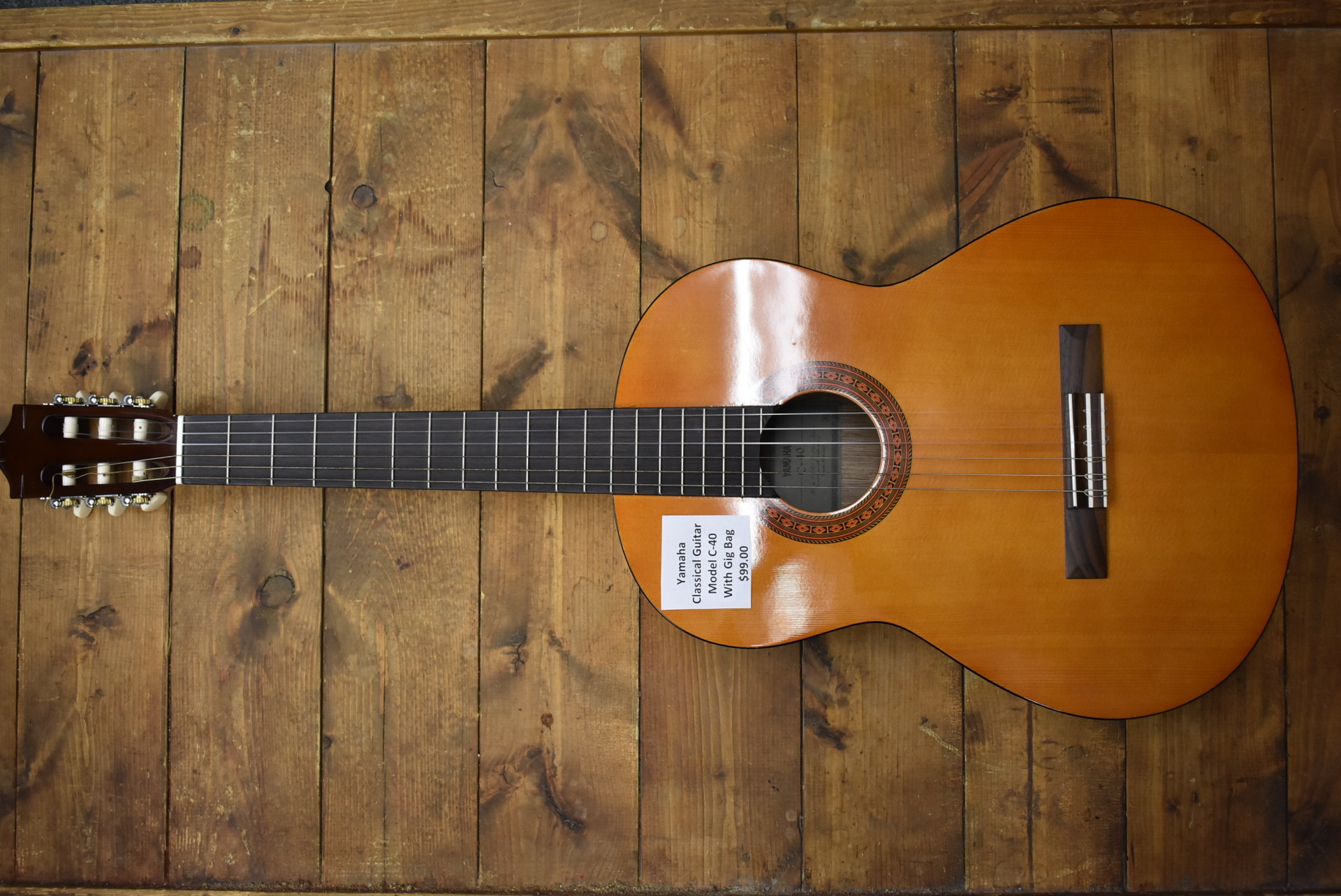 Yamaha Model C-40