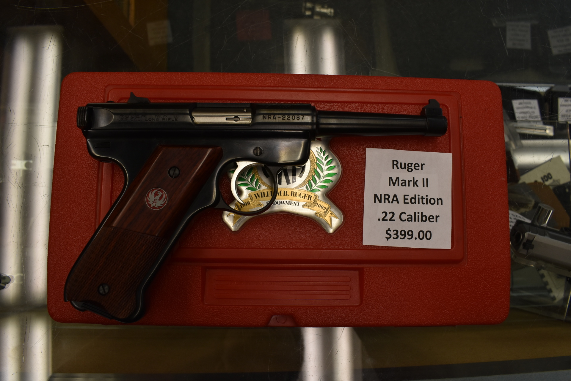 Ruger Mark II NRA Edition