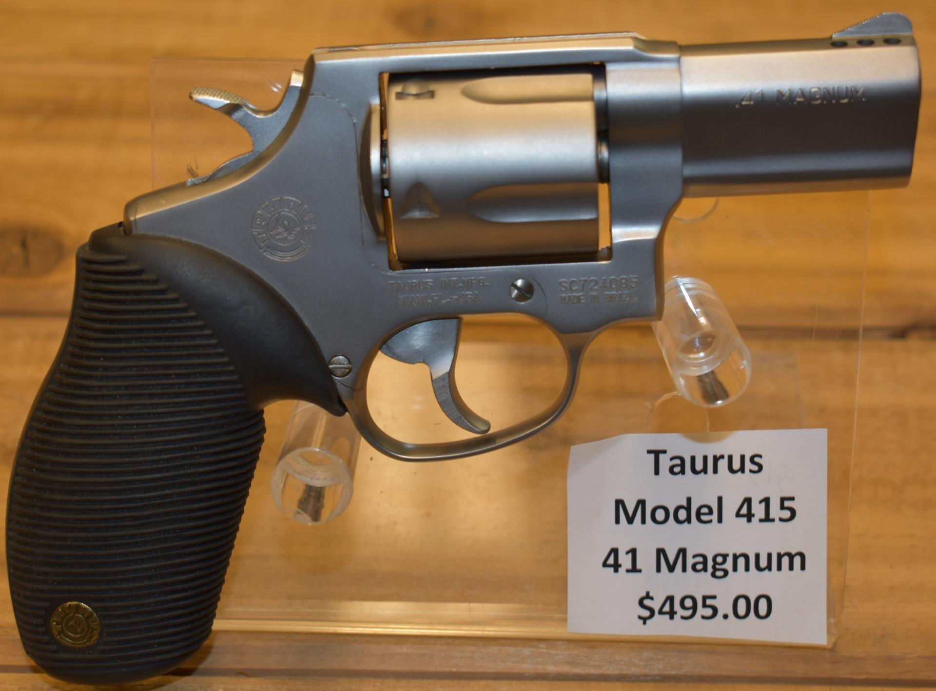 Taurus model 415