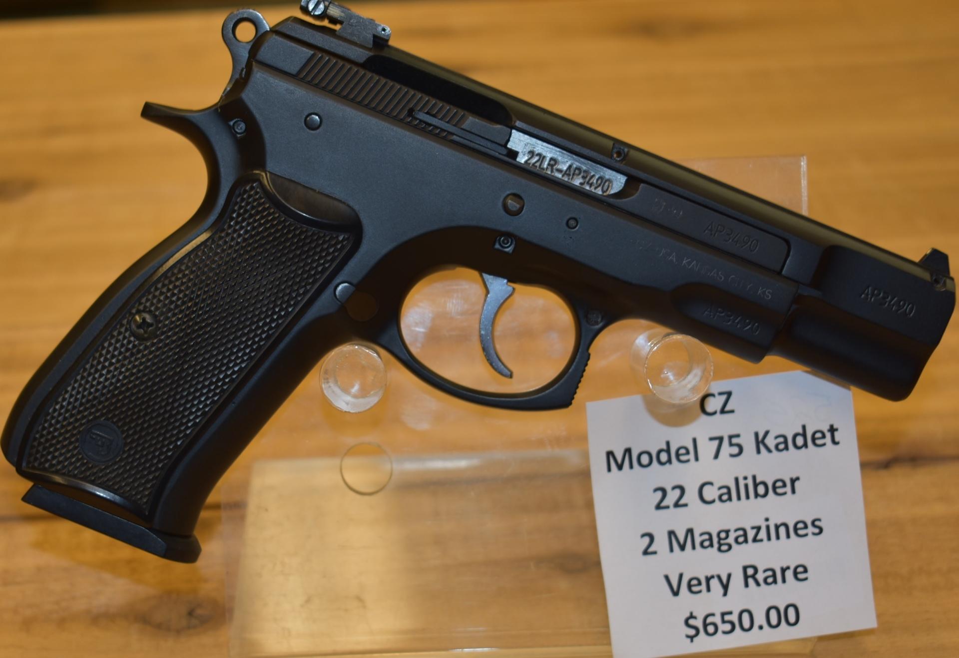 CZ Kadet model 75