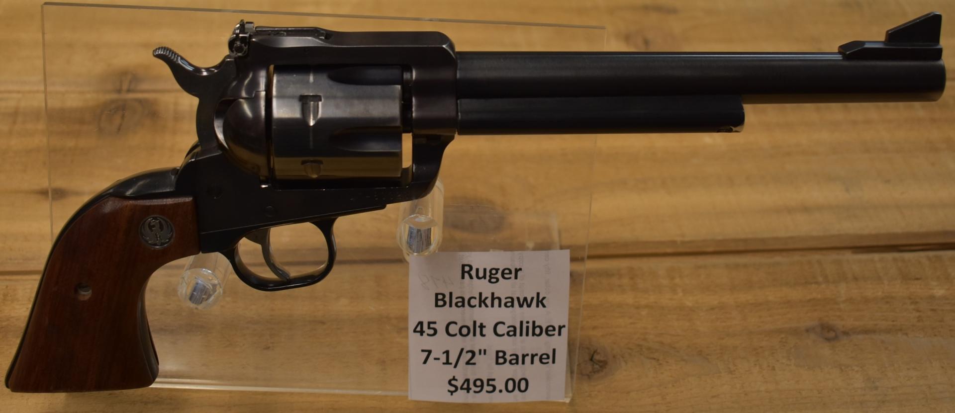 Ruger Blackhawk 45 Colt
