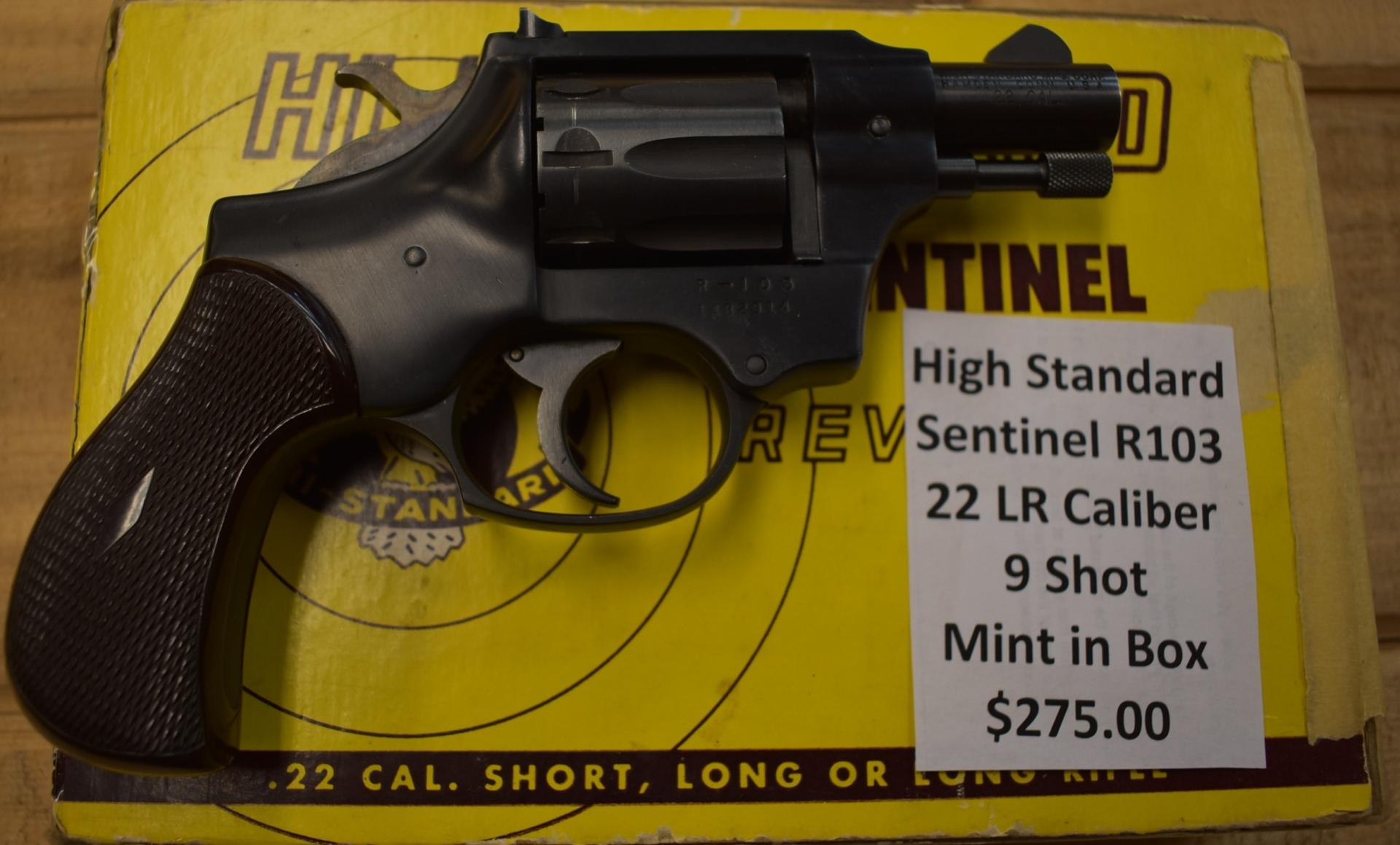 High Standard Sentinel R103