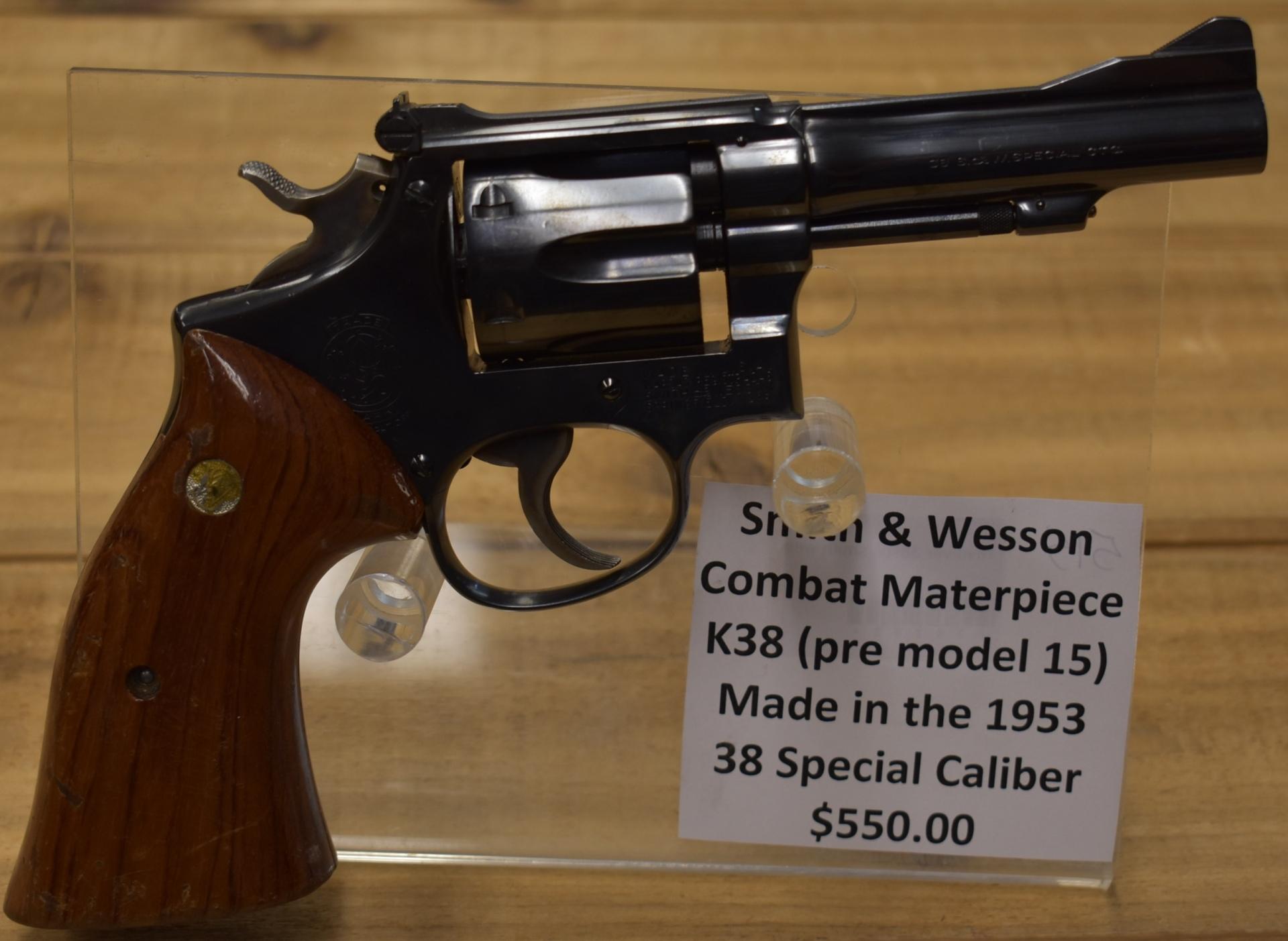 Smith & Wesson Combat Masterpiece