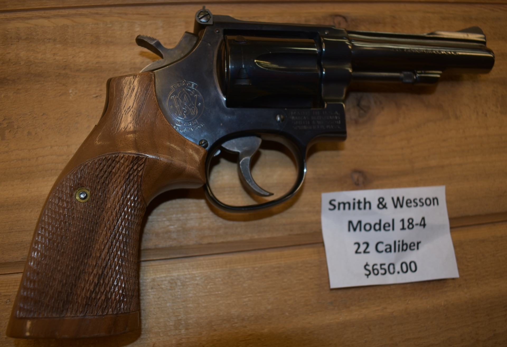 Smith & Wesson model 18-4