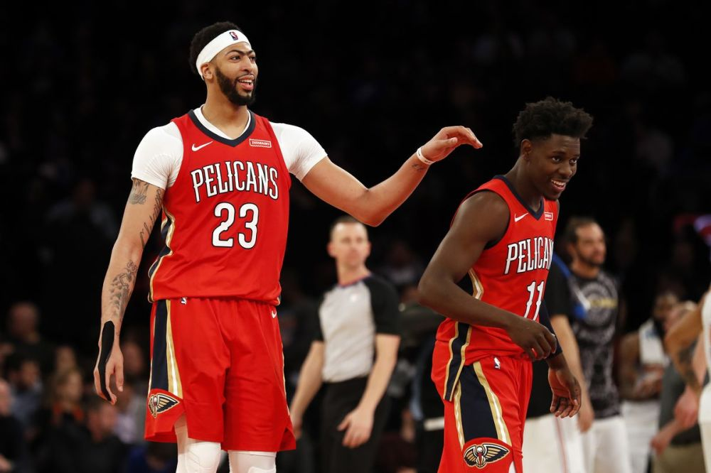 Anthony Davis & Jrue Holiday Earn All-Defensive First Team Honors