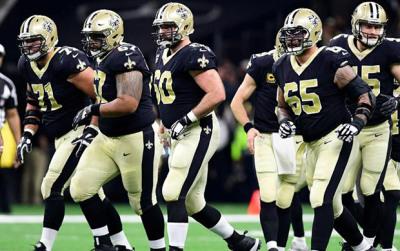 New Orleans Saints: 2018 Offensive Line
