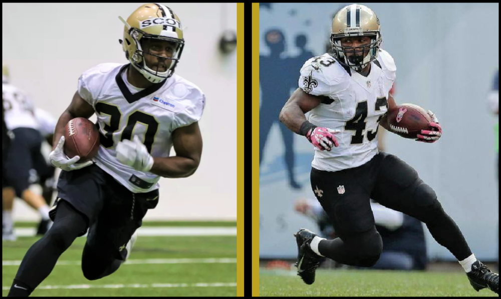 New Orleans Saints: Comparison, Boston Scott vs. Darren Sproles