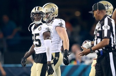 New Orleans Saints release CB De'Vante Harris and sign two more defensive backs