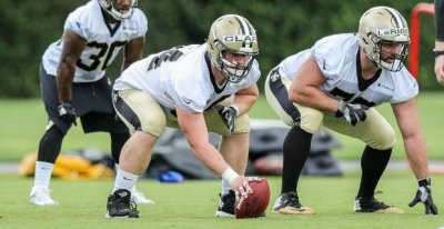 Saints OL Will Clapp excelling heading into week two of preseason