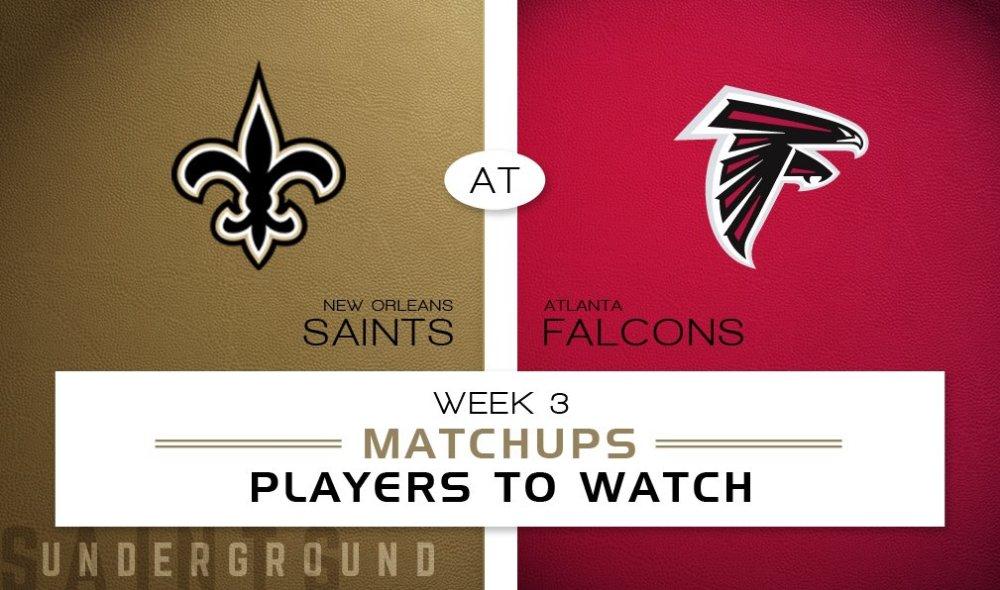 New Orleans Saints vs. Atlanta Falcons: Matchups & Players to Watch