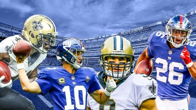 New Orleans Saints vs. New York Giants: Opposition Analysis