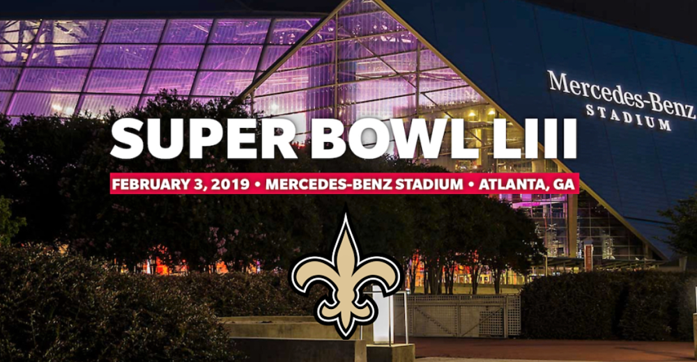 A New Orleans Saints Super Bowl in Atlanta?