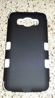 For Samsung Galaxy Grand Prime Hard Case (Black and White)
