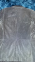 GAP Ladies Size Medium Suede Leather Jacket