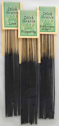 1618 Gold stick 13 pack x5 Frankincense deal