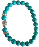 Om Turquoise (synthetic) bracelet