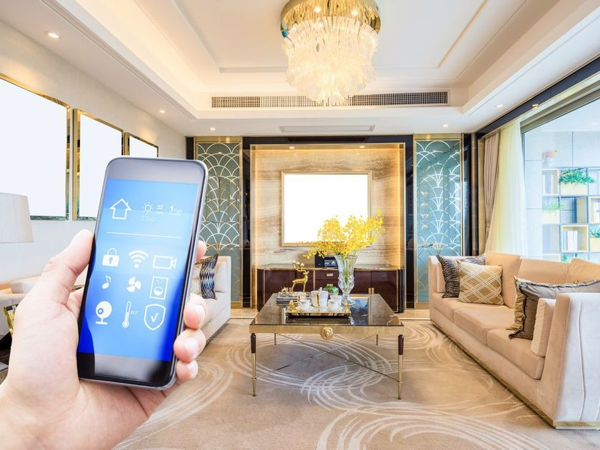 Smart Home Blinds for a Full-On Modern Home