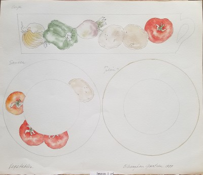 Vegetable plate prototype