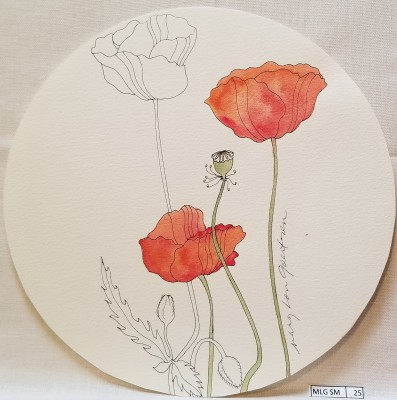 Orange Poppy Plate Prototype