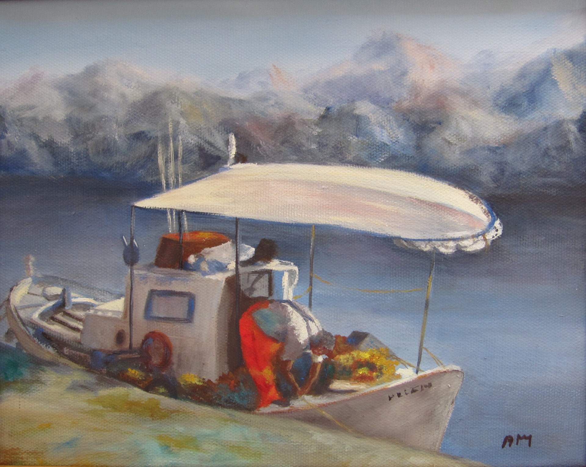 Kefalonia Fisherman