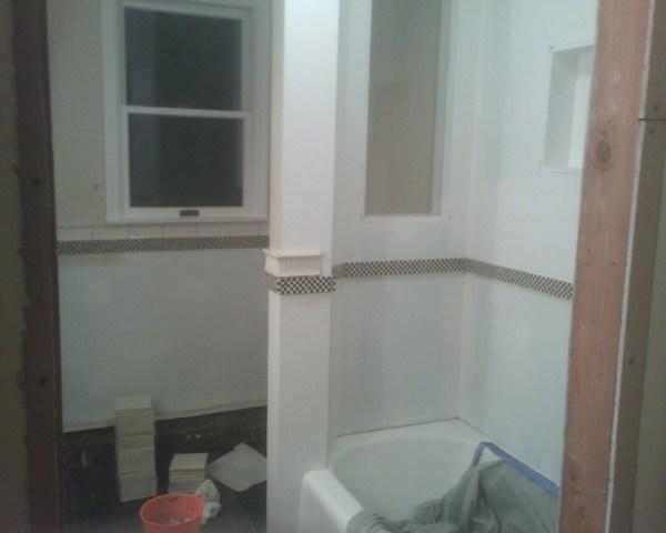 Custom Bathtub Wall Design 2