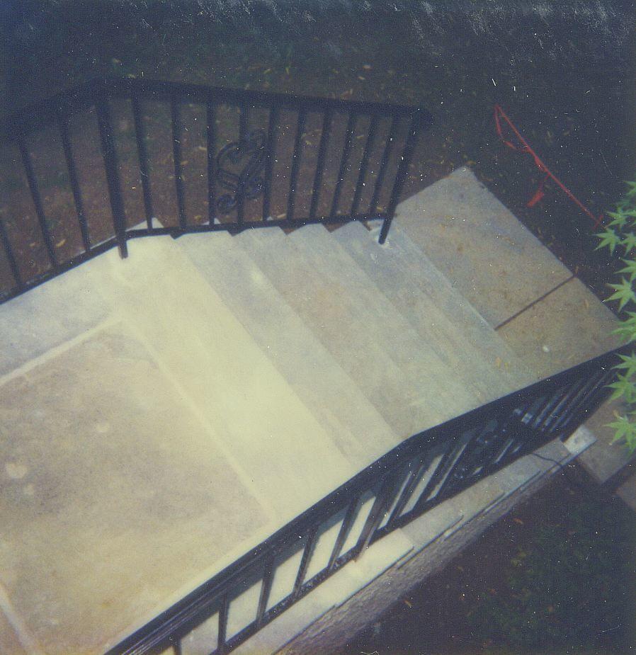 Flagstone Steps & Platforms