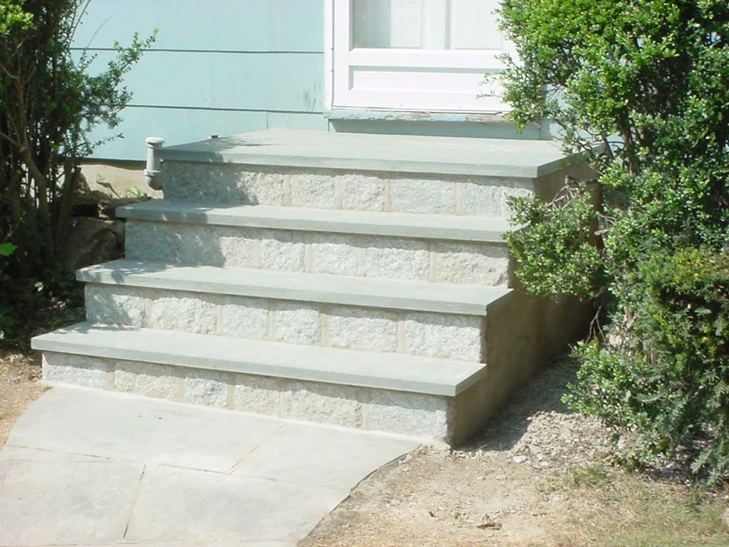 New Steps and Facing