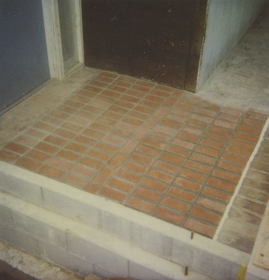 Paver Stone or Brick Walkways