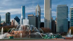 Buckingham Fountain at Grant Park in Chicago
