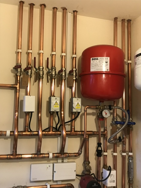 Heating Pipework