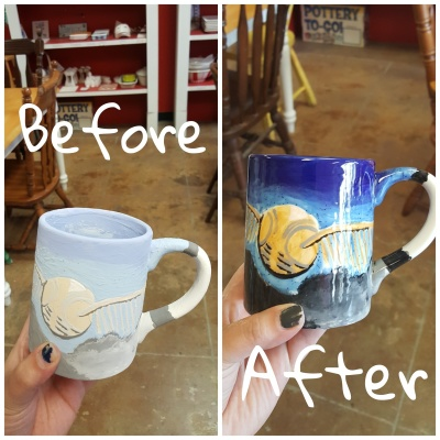 Individual Pottery Painting