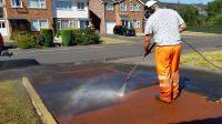 Driveway Pressure Washing Service