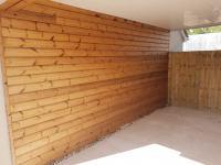Garage Wall Cladding Installation