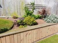 Garden Wall Cladding Installation