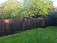 Completed Fence Painting Project