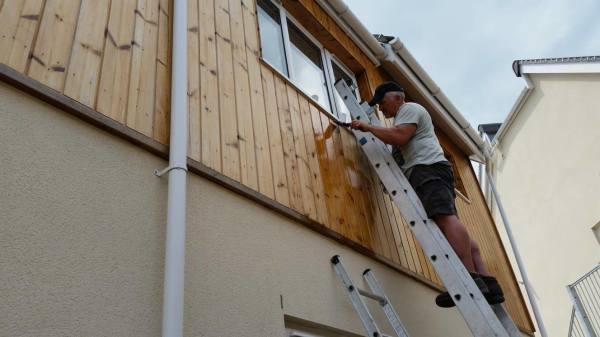 Timber Cladding Painting